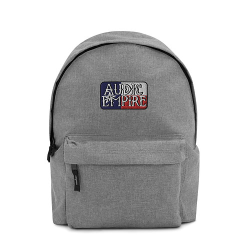 TX Flag Embroidered Backpack