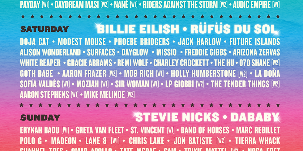 Austin City Limits Music Festival - Weekend 1 - Friday October 1 - 12PM
