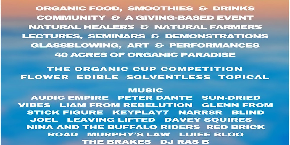The Organic Cup Fest