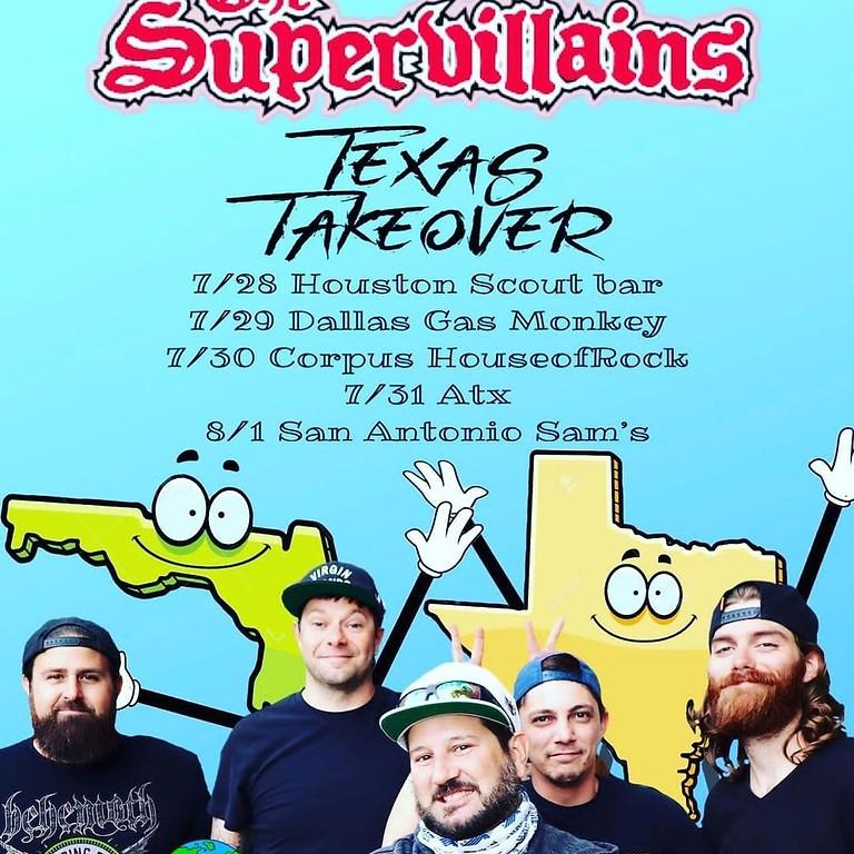 The Supervillains & Audic Empire - GMBG Thursday July 29 - 8:00PM