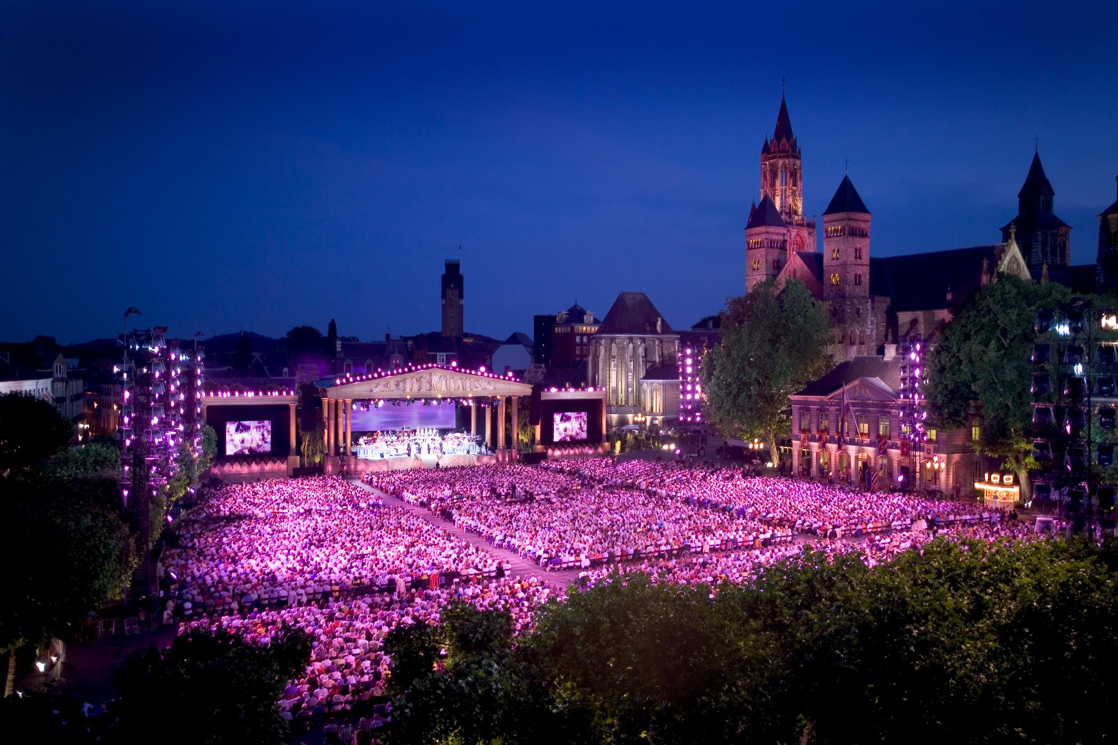 Rieu concert Vrijthof