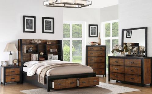 Nature Bookcase Bedroom Set | discount modern furniture