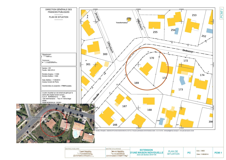 Plan permis de construire france christophe taurel for Permis de construire plan