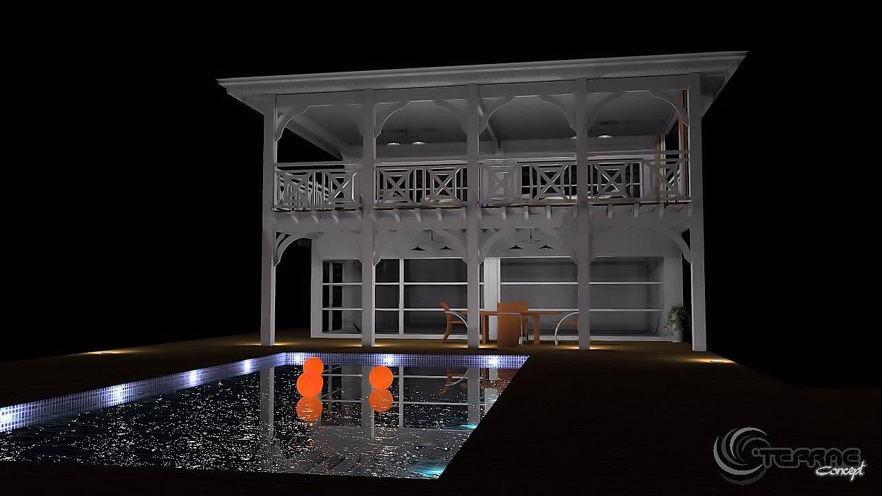 Simulateur maison 3d plans gratuit en d et de maison avec for Simulateur chambre 3d