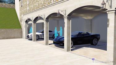 Plan de garage, permis de construire.