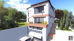 image 3d de maison,permis de constru