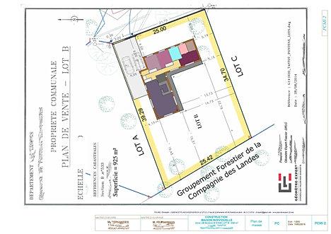 Dessinateur batiment landes christophe taurel for Un plan pour construire une maison