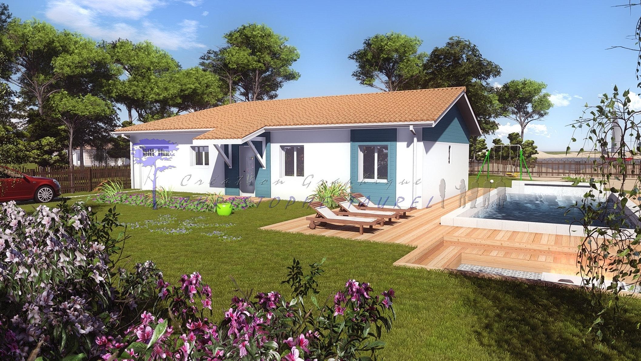 constructeur parentis en born biscarrosse sud ouest constructions. Black Bedroom Furniture Sets. Home Design Ideas