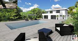 villa et piscine de luxe, à vendre