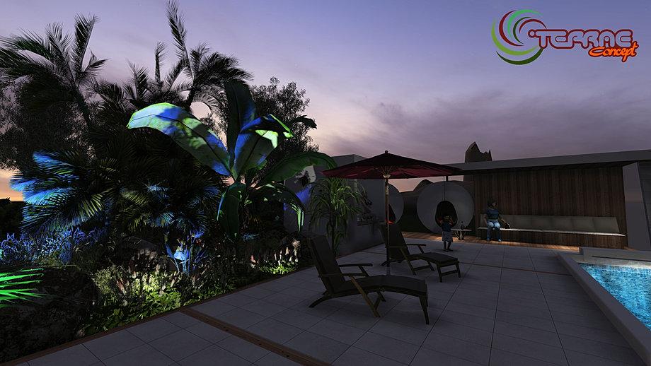 éclairage extérieur LED piscine et jardin,Cristophe TAUREL