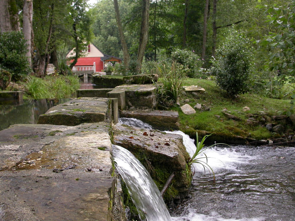 Moulin à eau louis XV.