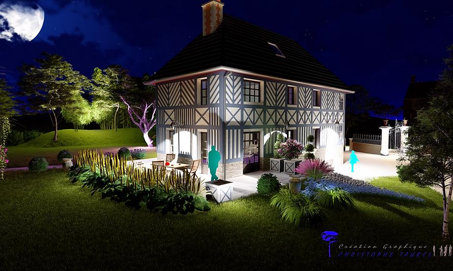 eclairage led de jardin - Eclairage Exterieur Piscine