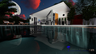 image de pool house contemporain