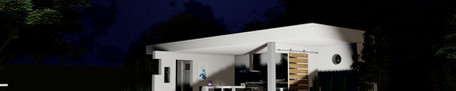 Eclairage pool house