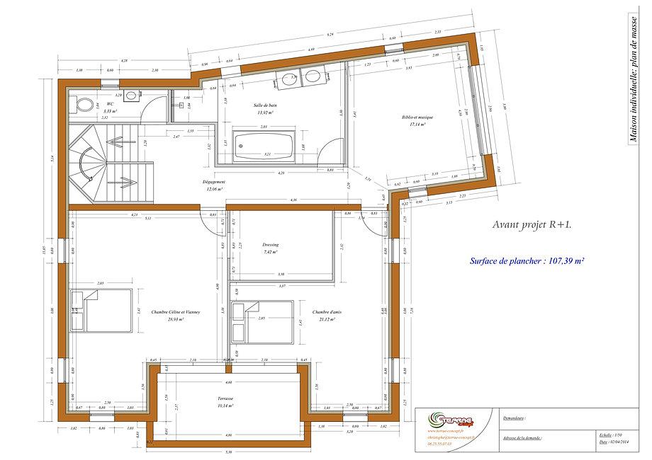 plan pour permis de construire. Black Bedroom Furniture Sets. Home Design Ideas