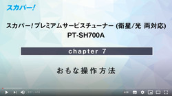 【PT-SH700A】⑦おもな操作方法