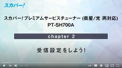 【PT-SH700A】②受信設定
