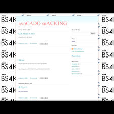 avoCADO snACKING