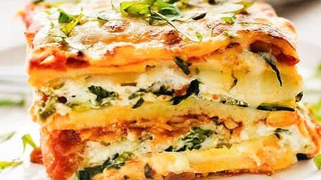 SEASONAL ROASTED VEGETABLE LASAGNE