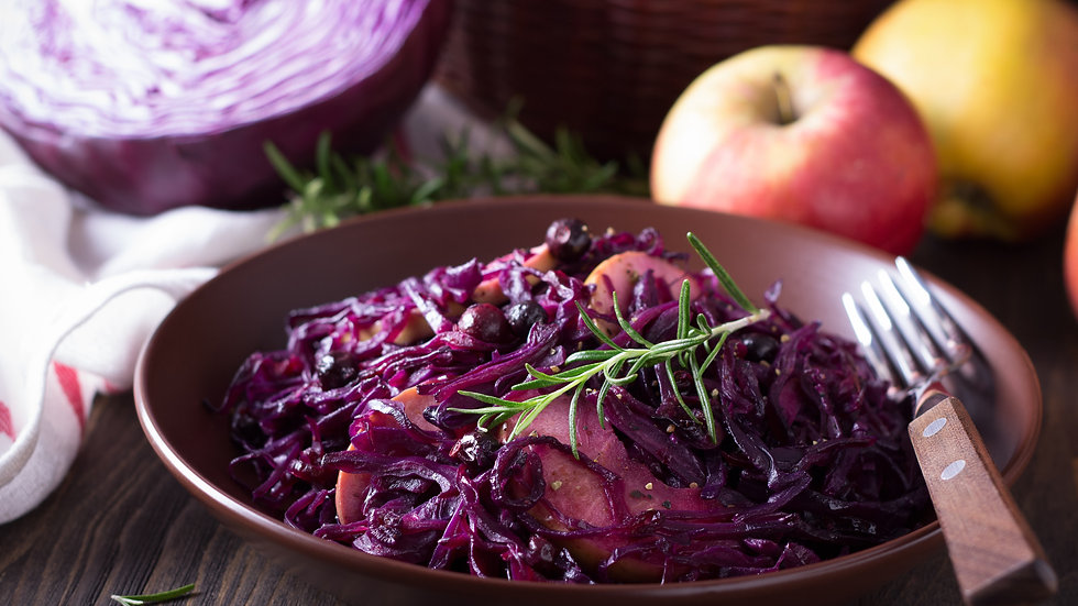 BRAISED RED CABBAGE