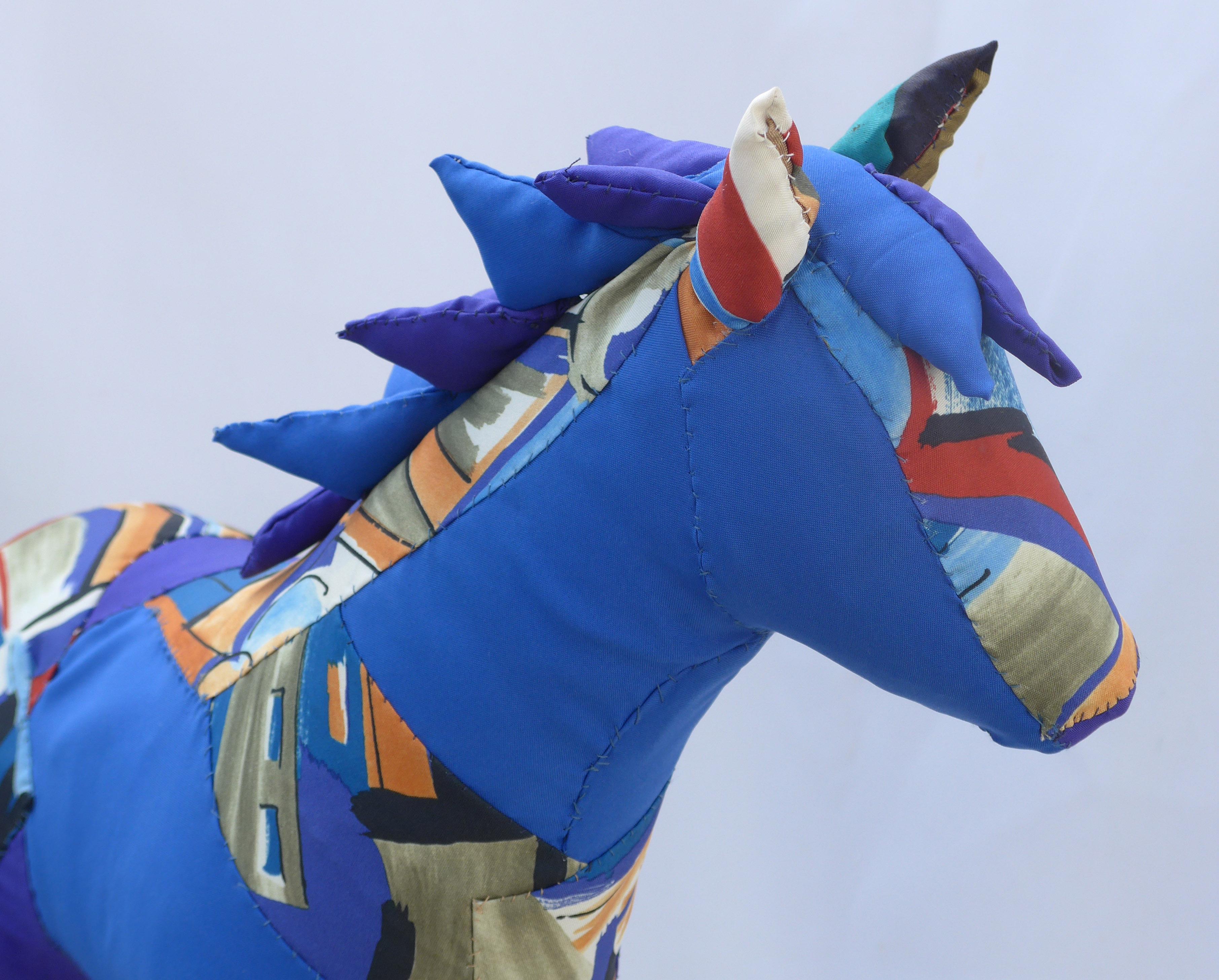 Franz Marc's Horse detail
