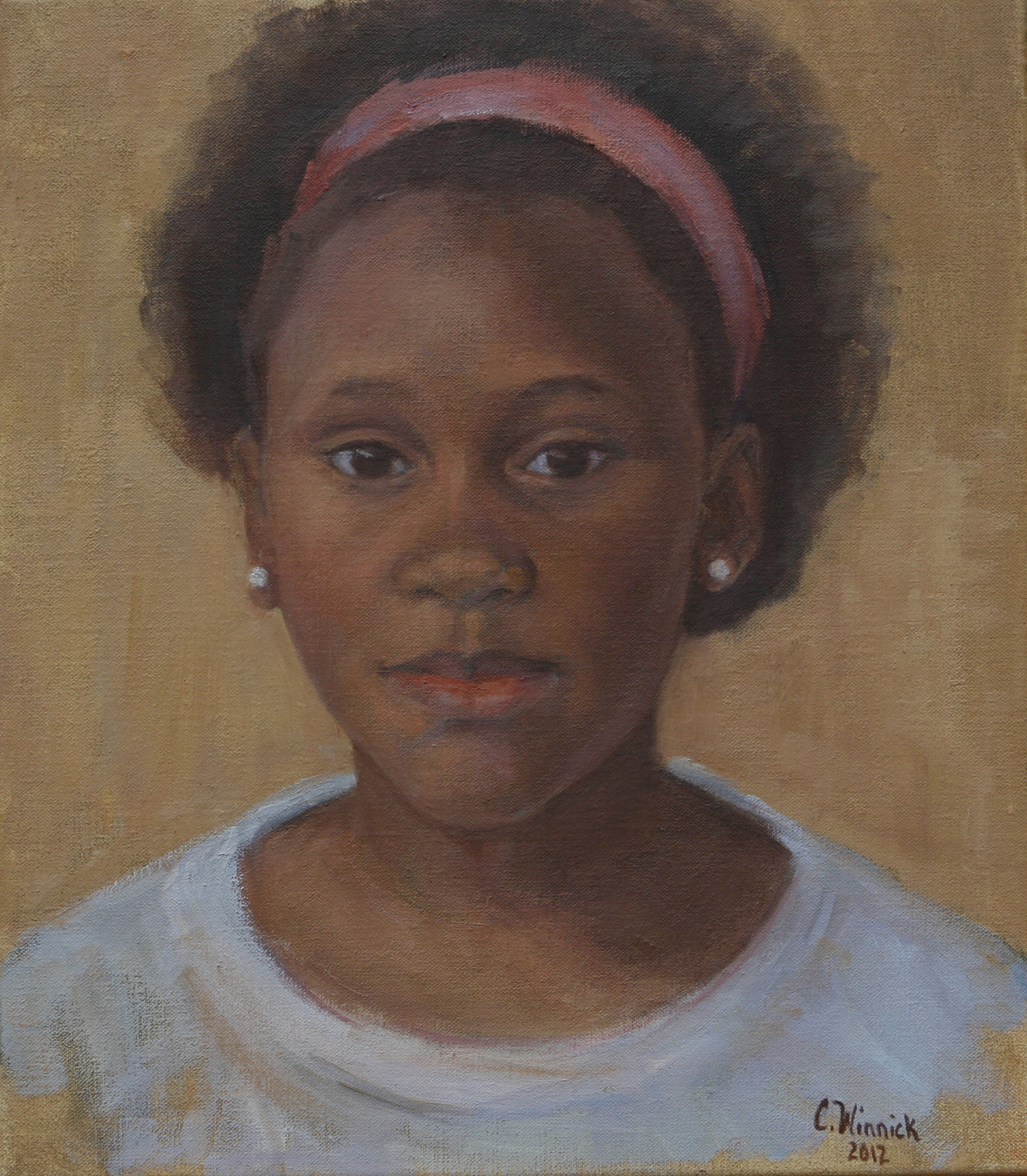 Portrait of Yana