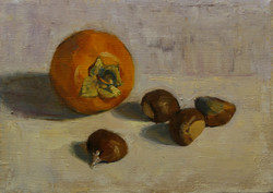 Persimmon and Chestnuts