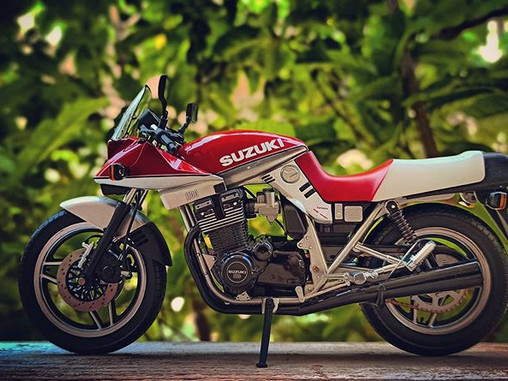 the fastest SUZUKI of its time - KATANA
