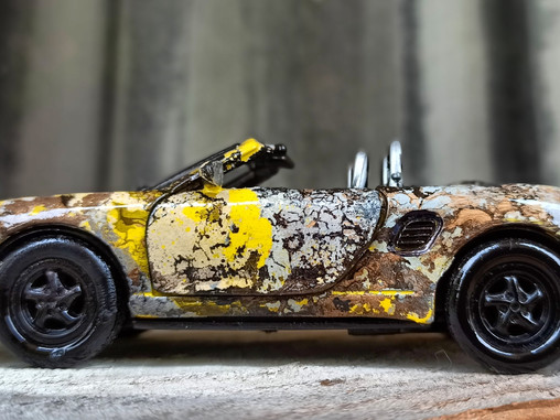 the porsche boxster ART CAR project