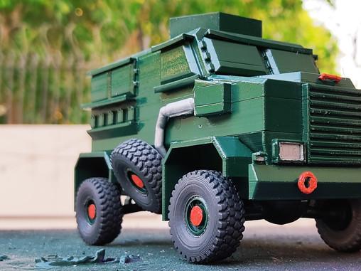ADITYA - Indian Army's Mine Protected Vehicle