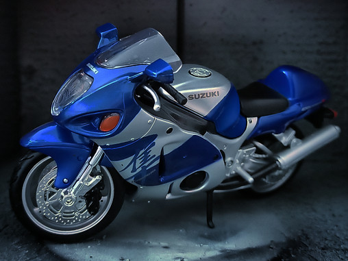 The legendary Suzuki HAYABUSA