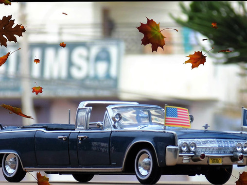 Presidential Limousine - SS 100 X, The Kennedy Car