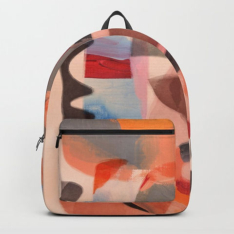Backpack by Ruth Burrows