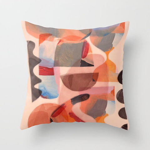 Cushion by Ruth Burrows