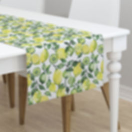 Zesty fabric design by Ruth Burrows
