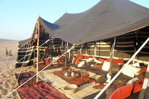 Traditional Arabian Heritage Tent