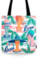 Tote bag design by Ruth Burrows