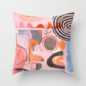 Cushion by Ruth Burrows