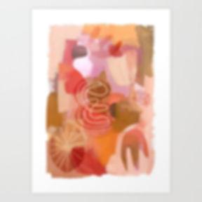 Follow me - Art Print by Ruth Burrows