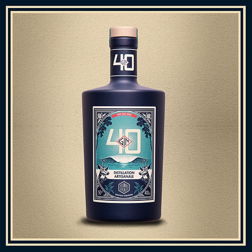 Bouteille Gin 40 - 50cl