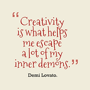 Creativity-is-what-helps-me__quotes-by-D