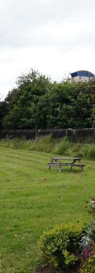 The church field