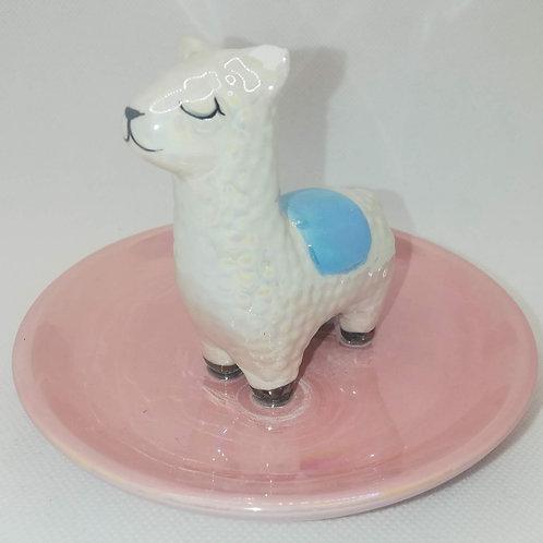 Llama Trinket Tray