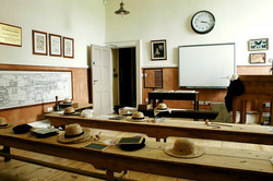 Victorian school room experience can be