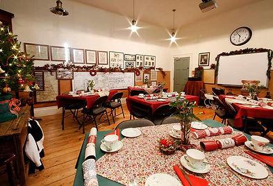 Christmas schoolroom