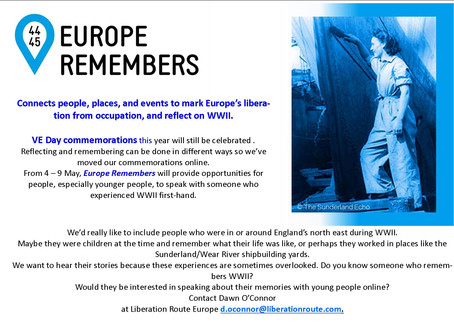 Remember WW2?  Want to share memories?  Want to learn about WW2