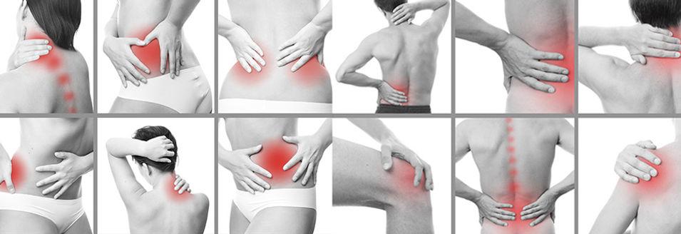 douleur articulaire, douleur vertébrale, symptômes généraux