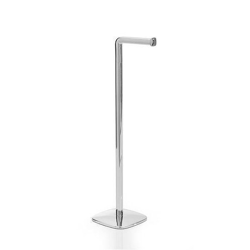 Burford Bathroom Toilet Butler In Polished Stainless Steel
