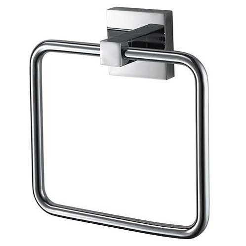 Haceka Mezzo Chrome Towel Ring