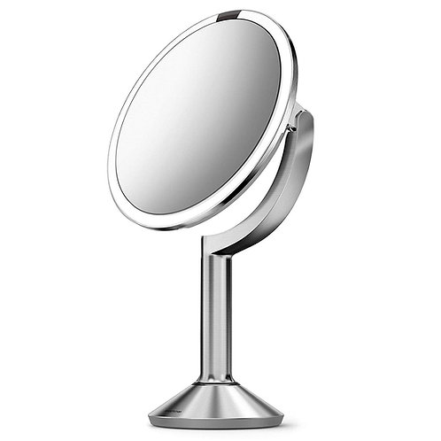 Sensor Mirror Trio in Brushed Stainless Steel